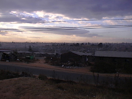 Soweto at dusk